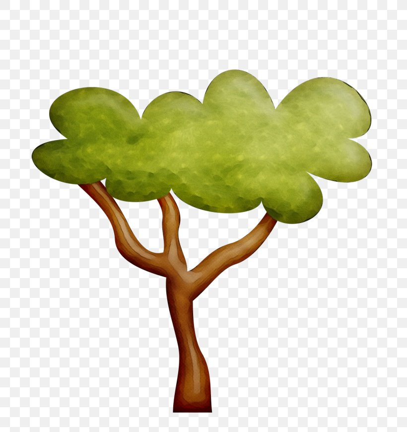 Green Leaf Tree Plant Clip Art, PNG, 696x870px, Watercolor, Branch, Clover, Green, Heart Download Free