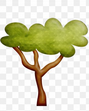 Clover Branch - Green Leaf Tree Plant Clip Art PNG