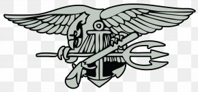 United States - United States Navy SEALs Special Warfare Insignia PNG