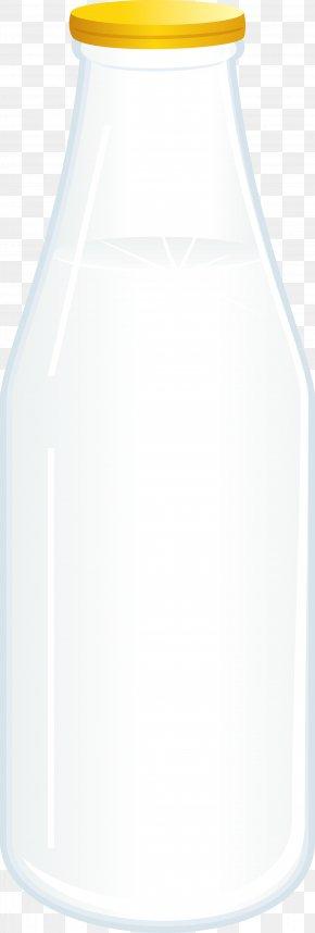 Yellow Glass Bottle - Glass Bottle PNG
