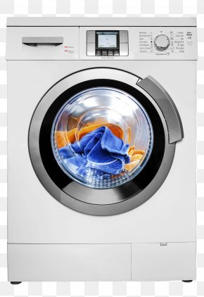 Drum Washing Machine - Washing Machine Clothes Dryer Home Appliance Efficient Energy Use PNG
