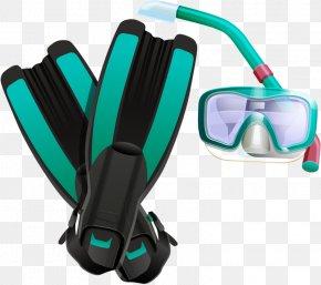 Swimming Tools - Goggles Snorkeling Diving Mask Clip Art PNG