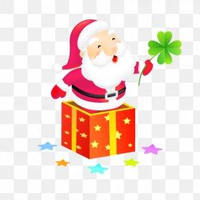Vector Santa Claus - Santa Claus Christmas Ornament Clip Art PNG