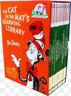 Cat In The Hat Book - The Cat In The Hat Picture Book Dr. Seuss's Beginner Book Collection PNG