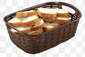 Bread Basket Colonies - Basket Brown Wicker Plastic Rattan PNG