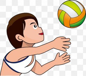 Beach Volley - Beach Volleyball Drawing Clip Art PNG