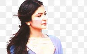 Anushka Sharma Long Hair Hair Tie Ponytail PNG