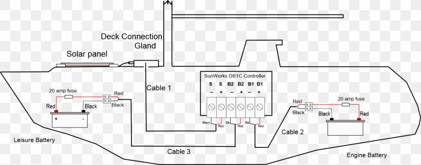 Auto Battery Wiring Diagram | Wiring Diagram on