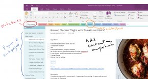 OneNote - Microsoft OneNote Template Note-taking PNG