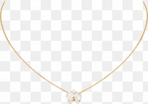 Necklace - Necklace Gold Carat Cartier Earring PNG
