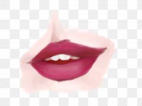Warm-up - Lip Gloss Close-up Magenta PNG