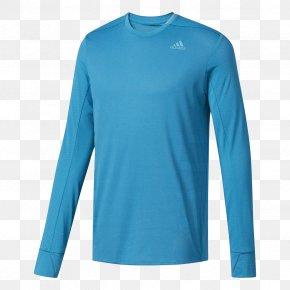 Adidas T-shirt - Long-sleeved T-shirt Adidas PNG