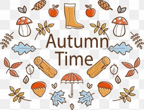 Beautiful Autumn Poster - Poster Clip Art PNG