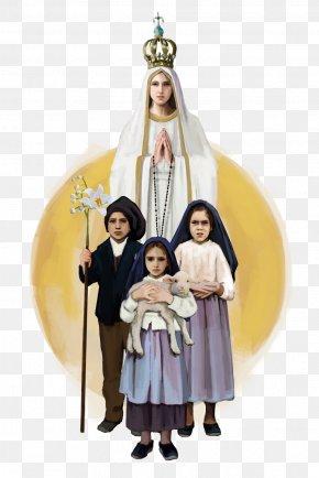 Nossa Senhora De Fatima - Religion Costume Outerwear PNG