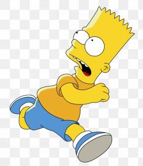 Transparent Bart Simpson - Bart Simpson Homer Simpson Lisa Simpson Marge Simpson PNG