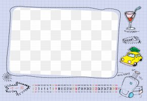 Calendar Template - Board Game Material Play Pattern PNG