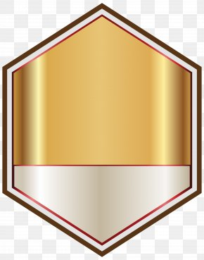 Gold And White Label Clipart Image - Cotswold Hills Logo Clip Art PNG