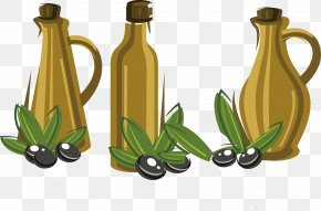 Olives And Containers - Sequence Container Olive PNG