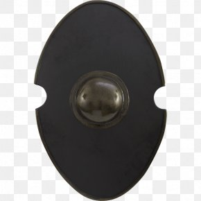Black Shield - Round Shield Live Action Role-playing Game Sword Scutum PNG