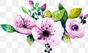 Watercolor Flowers - Wedding Invitation Watercolour Flowers Watercolor Painting Floral Design PNG