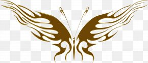 Butterfly Texture - Butterfly Decal Clip Art PNG