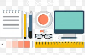 Designers Office Supplies - Designer Icon PNG