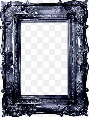 Silver Black Cool Box - Picture Frame Film Frame Clip Art PNG