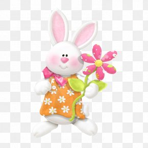 Easter - Easter Bunny Happiness Wish Love PNG