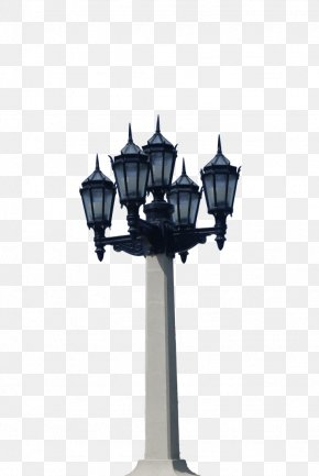 Column - Light Fixture Lighting Street Light Lamp PNG