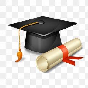 Gold Diploma - Graduation Ceremony Graduate University Square Academic Cap Master's Degree Bachelor's Degree PNG