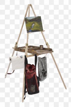 Plein Air Painters Tripods - En Plein Air Watercolor Painting Easel Art PNG