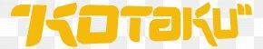 Yellow Logo - Kotaku Logo Video Game Fire Emblem Awakening The World Ends With You PNG
