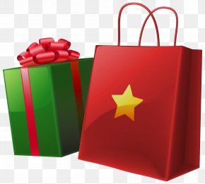 Christmas Bags Cliparts - Santa Claus Christmas Gift Clip Art PNG