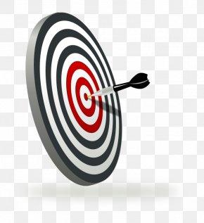 Aim Png - Transparent Background Bullseye Clipart, Png Download - kindpng