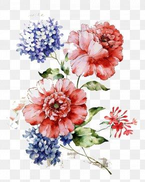 Beautiful Vintage Floral Pattern - Flower Floral Design Wallpaper PNG