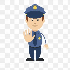 Respectable Cute Police Uncle - Safety Internet Emoji PNG