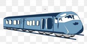 Train - Train Rail Transport Railroad Car Clip Art PNG