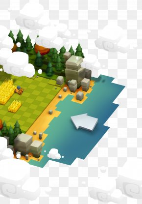 Design - Low Poly Concept Art Game User Interface PNG