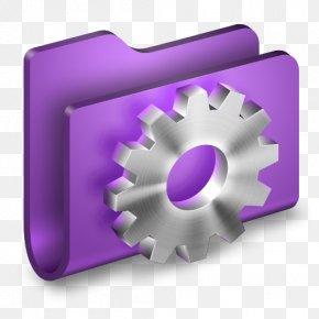 Developer Purple Folder - Purple Hardware Accessory PNG