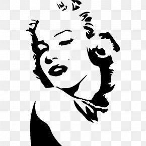 POP ART - Marilyn Diptych Pop Art Painting Decal PNG