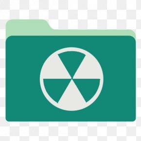 Burn - Symbol Aqua Green PNG