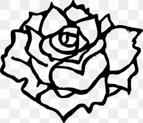 Rose Clip Art - Black Rose Clip Art PNG