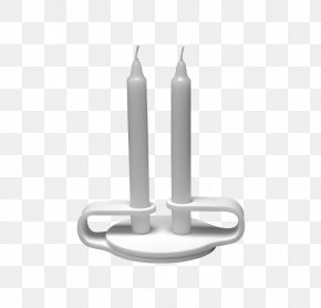 Metal Candle Holder - Metal Background PNG
