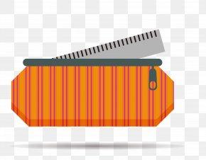 Vertical Stripes Pencil - Pencil Case PNG