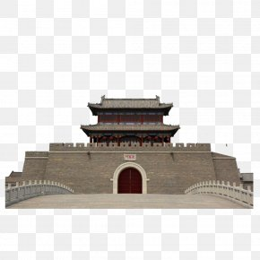 Stately Ancient City Gate - City Gate Download Door PNG