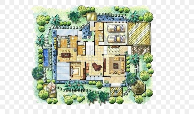 Floor Plan Architecture Building Villa, PNG, 599x480px, Floor Plan, Architecture, Balcony, Building, Building Design Download Free