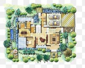House Plan Plan - Floor Plan Architecture Building Villa PNG