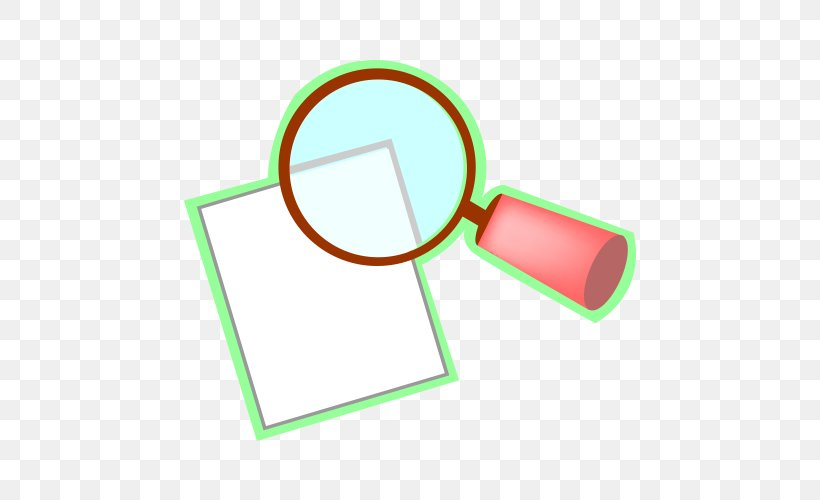 Magnifying Glass Euclidean Vector, PNG, 500x500px, Magnifying Glass, Area, Brand, Glass, Green Download Free