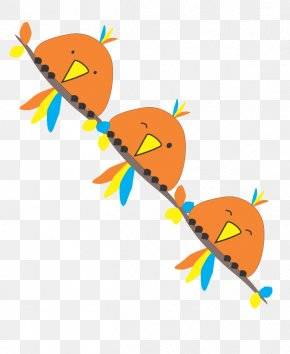 Bird Clip Art Orange - Vector Graphics Image Clip Art Cartoon PNG