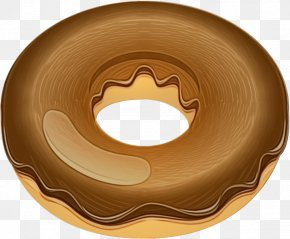 Wheel Doughnut - Brown Doughnut Wheel PNG